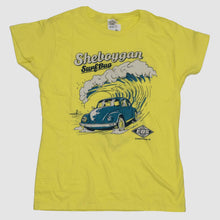 Load image into Gallery viewer, Womens Surf Bug Shirt - Yellow
