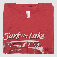 Load image into Gallery viewer, Surf The Lake Shirt - Red