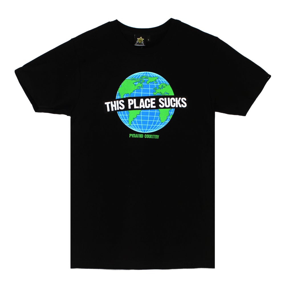 This Place Sucks Tee - Black