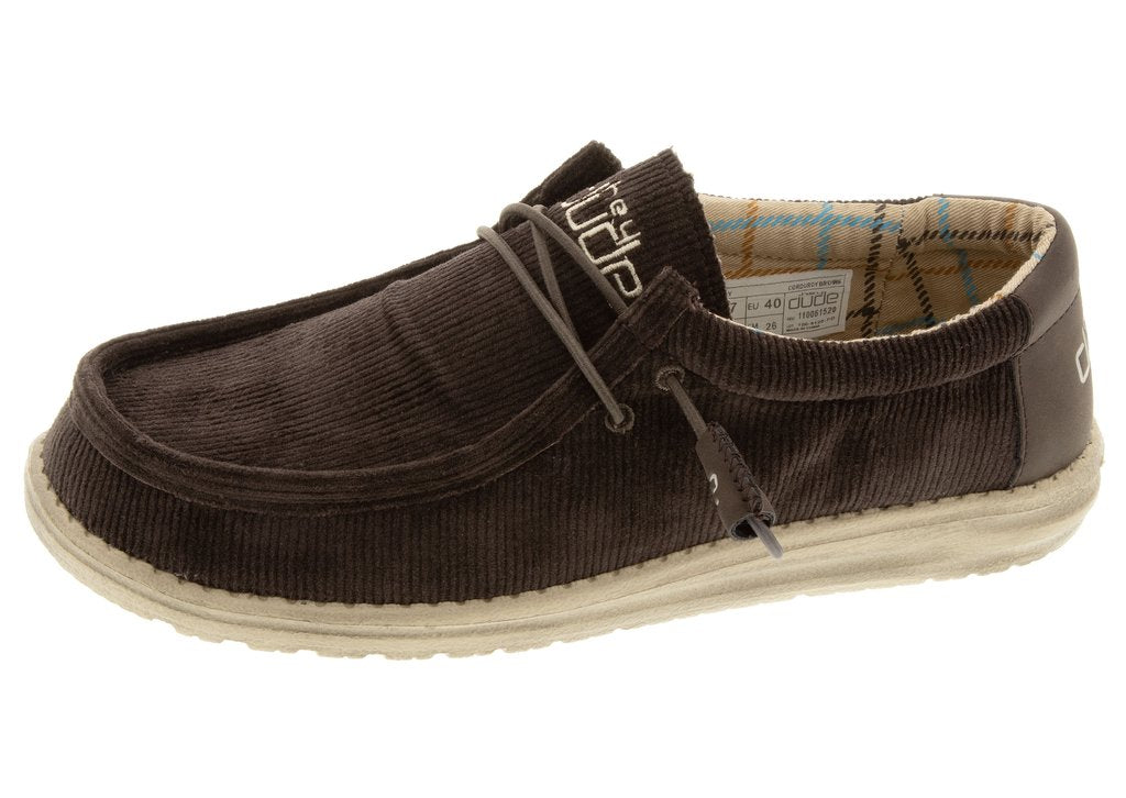 WALLY CORDUROY BROWN
