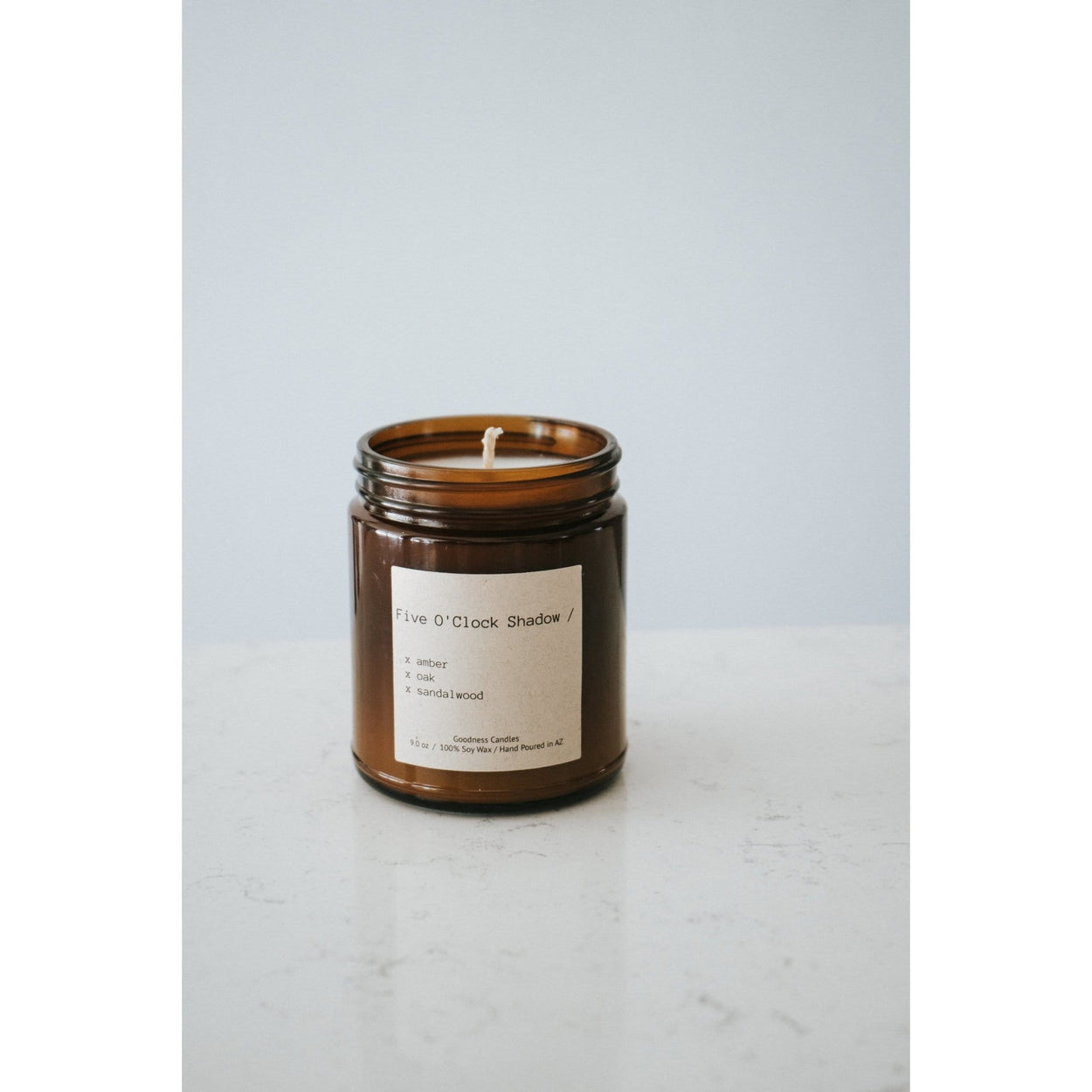 Five O' Clock Shadow Gooodness Candles