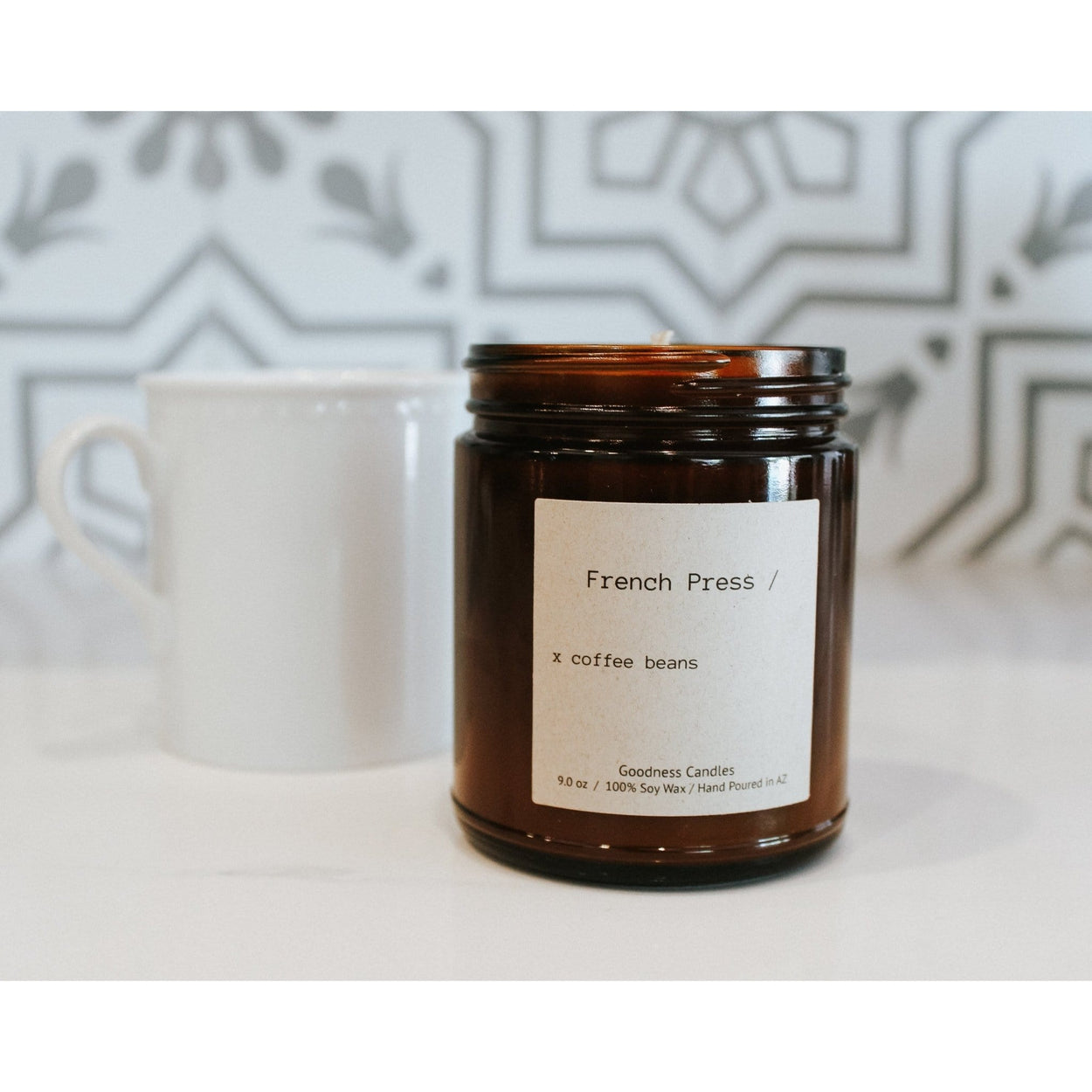 French Press Goodness Candles