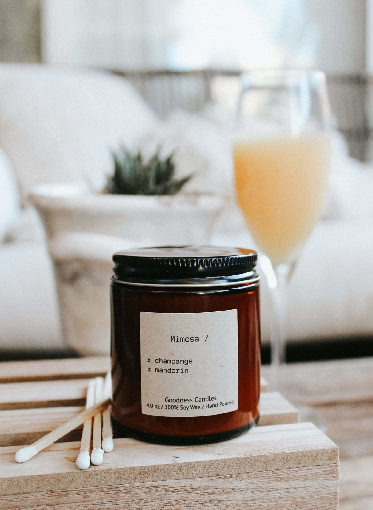 Mimosa Goodness Candles