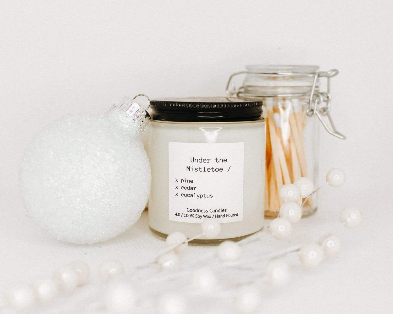 Under the Mistletoe Goodness Candles