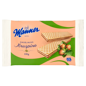 Manner Knuspino Mogyorós ostya 110g /18/