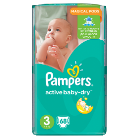 Pampers Active Baby pelenka Midi 6-10kg 66db