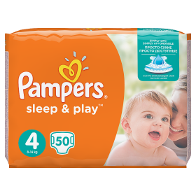 Pampers Sleep&Play pelenka Maxi 9-14kg 50db