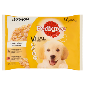 PEDIGREE alutas 4-pack junior csirke&rizs. marha&r