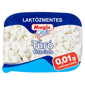 Magic Milk laktózmentes félzsíros túró 180 g
