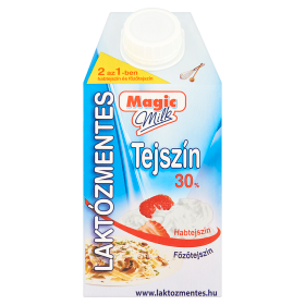 Magic Milk laktózmentes UHT tejszín 30% 0,5 l