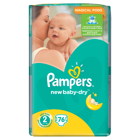 Pampers New Baby pelenka Mini 3-6kg 76db
