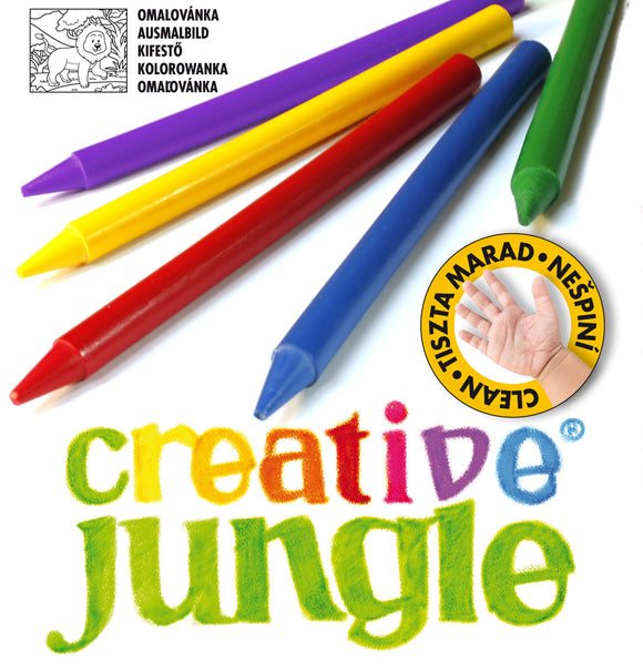 12-ES CREATIVE JUNGLE PLASTIC ZSÍRKRÉTA