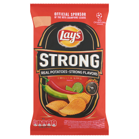 Lay's Strong chilli & lime chips 65g /14/