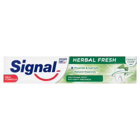 SIGNAL FAMILY HERBAL FRESH FOGKRÉM 75ML