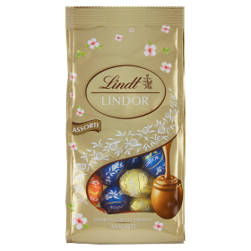 Lindt Lindor Assorted Small Egg tojás zacskóban 1