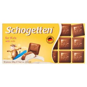Schogetten Táblás For Kids 100g /15/