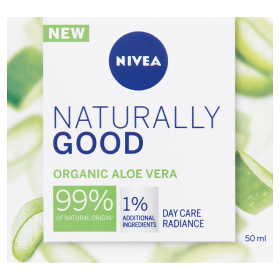 Nivea Naturally Good nappali arckrém 50ml
