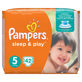 Pampers Sleep&Play pelenka Junior 11-25kg 42db