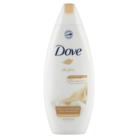 Dove krémtusfürdő 250ml Silk Glow
