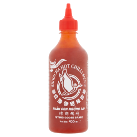 Flying Goose Brand Sriracha szuper csípős chili szósz 455 ml
