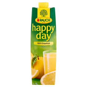 Rauch Happy Day 100% grapefruitlé 1 l