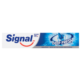 Signal fogkrem deep fresh aquamint 75ml