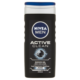 NIVEA MEN Active Clean Tusfürdő 250 ml