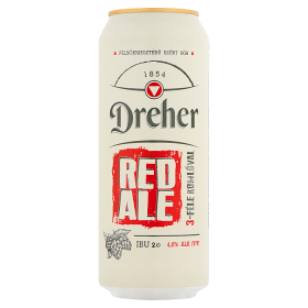 DS Dréher Red Ale 0,5L DOB 4,8% /24/