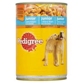 PEDIGREE konzerv 400g csirke JUNIOR /24/