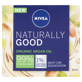 Nivea Naturally Good éjszakai arckrém 50ml