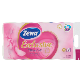 Zewa Exclusive 4 rét toalettpapír Ultra soft 8 tek