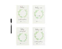 All4Ella - Personalised Milestone Cards - White