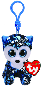 Ty Beanie Boo - Sequin Clip On - Slush the Dog