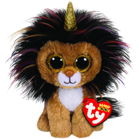 Ty Beanie Boo - Regular - Ramsey the Lion with Horn