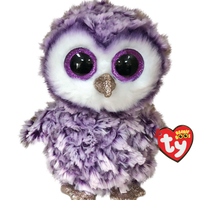 Ty Beanie Boo - Regular - Moonlight the Owl