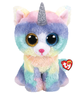 Beanie Boo - Heather the Cat - Large