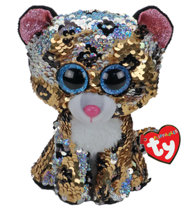 Beanie Boo Flippable - Sterling the Leopard - Medium