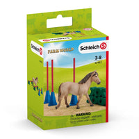 Schleich - Farm World - Pony Slalom - 42483