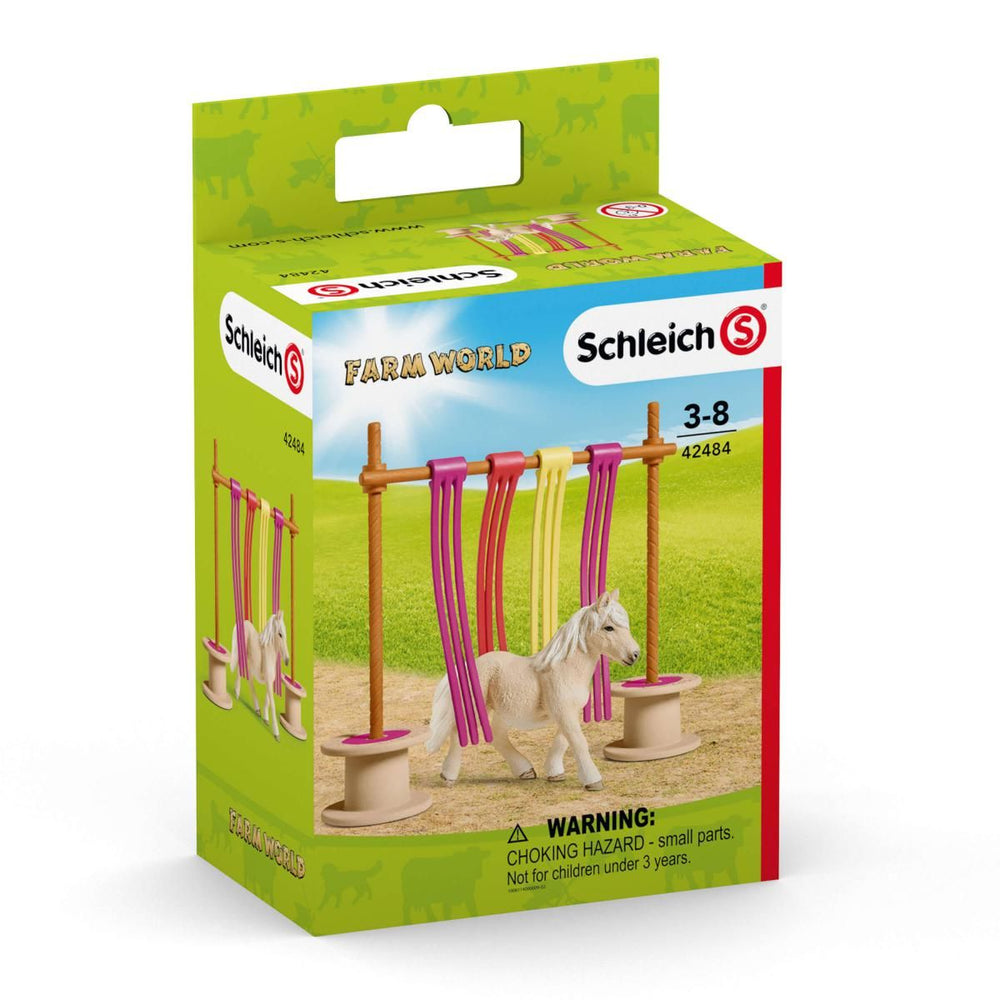 Schleich - Farm World - Pony Curtain Obstacle - 42484