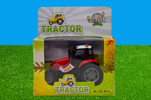Kids Globe - Lights & Sounds Tractor - Assorted