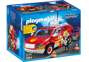 Playmobil - City Action - City Fire Chief Car - 5364