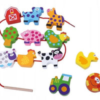 Tooky Toy Lacing Farm