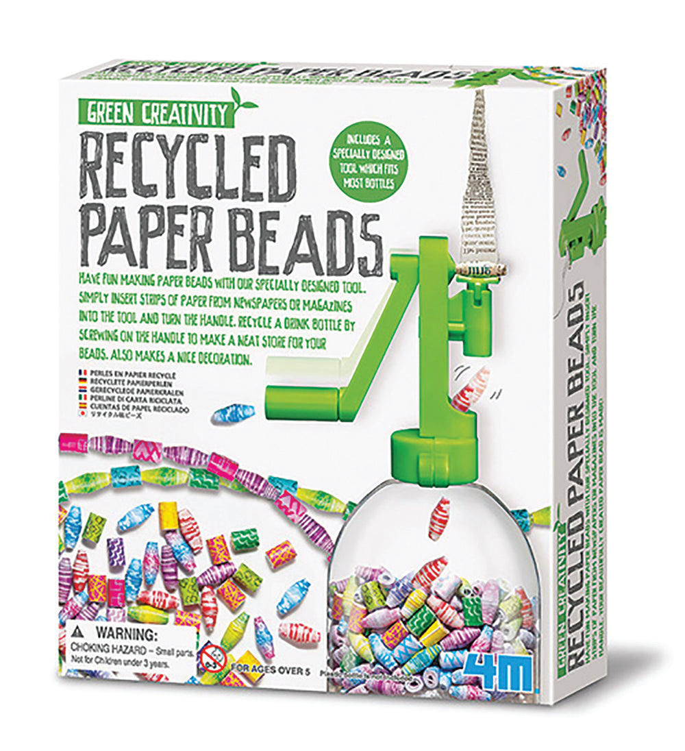 4M - Green Creativity - Recycled Paper Beads