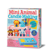 4M Mini Animal Candle making