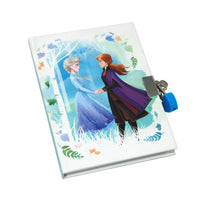 Pink Poppy - Frozen 2 - Lockable Scented Diary