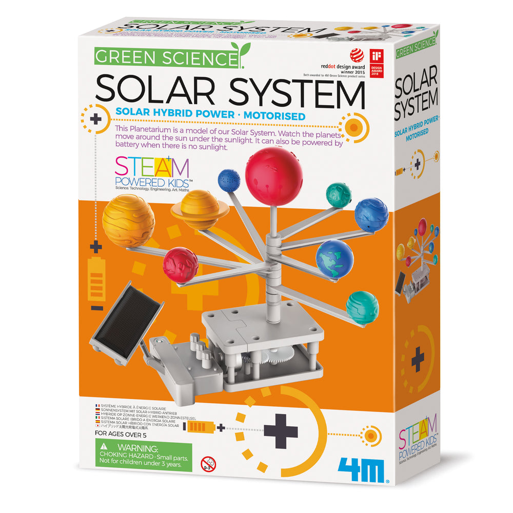4M - Green Science - Solar System