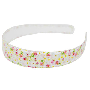 Pink Poppy - Garden Rose Headband