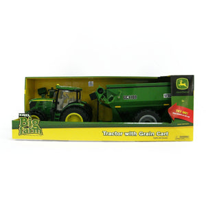 John Deere -1:16 6210R Tractor with Grain Cart