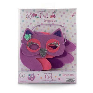 Pink Poppy - Owl Mask & Wing Set