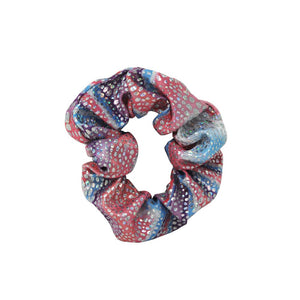 Pink Poppy - Under The Sea Scrunchie